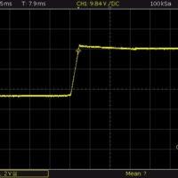 10V aus Strombegrenzung (1A) kommend
