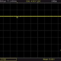 5V 1A Last plötzlich zugeschaltet (5 Ohm)