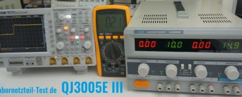 Labornetzgerät QJ3005EIII im Test