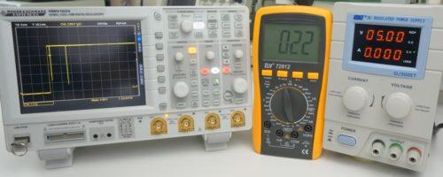 QJ3005T im Test mit Oszilloskop und Multimeter