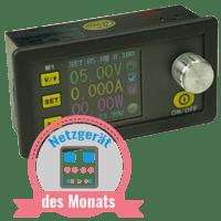 DPS3003 - Labornetzgerät des Monats August 2017