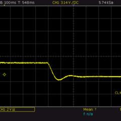 Reaktionszeit Strombegrenzung bei 5V 500mA