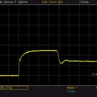 Reaktionszeit Strombegrenzung beim Einschalten 5V 500mA